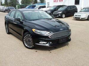 2017 Ford Fusion TITANIUM AWD CERTIFIED PRE OWNED