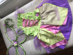 Fairy costume for kid size 6