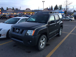 2007 Nissan Xterra SE SUV c/w winter tires