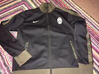 Nike Juventus zip up tracksuit top XL