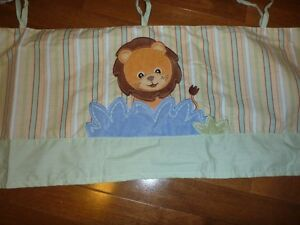 Jungle Theme Baby Room Window Valance Curtain West Island Greater Montréal image 4
