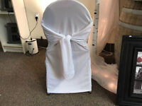 SUMMER SALE!  Chair Cover Rental slashed 50%. Rent Now for $1.25