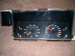 "Gauge Cluster for ""87 - '89 Dodge Dakota or Chrysler Lebaron"