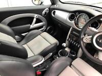 2008 08 reg Mini 1.6 Cooper S Convertible + Black + JCW JOHN COOPER WORKS CoopeS