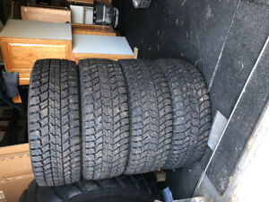 studded winter tires 275/65/r18