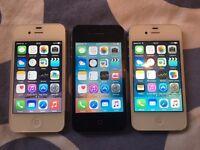 iPhone 4s 8GB, EE, virgin, mint, warranty and receipt.