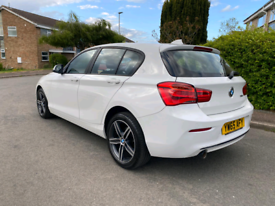 image for BMW 1 Series 118d Sport 65 Plate in Mint Condition Cat S Repaired