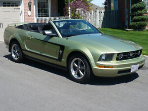 2006 Ford Mustang Convertible Pony Package 4.0L V6 Auto Leather