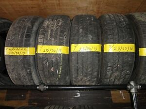 4 ALL SEASON TIRE HANKOOK 215/70/R15 90% TREAD