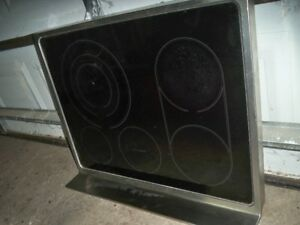 LG stove used  glass top