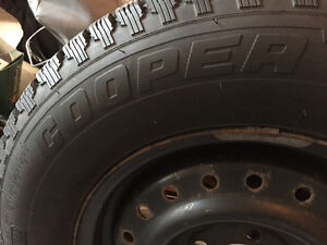 Great Set Of Winter Tires Cambridge Kitchener Area image 2