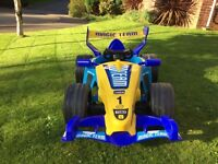 Feber f1 kids electric ride on car
