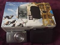 Canon IXUS 165 Digital Camera with 2x Memory Cards and Case