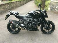 2010(10) Kawasaki ZR750 LAF Z750 - Spark Black - Akrapovic - 16285 miles