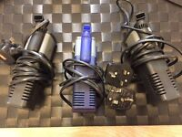 Fish tank pump and heaters
