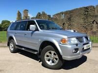 2006 56 Mitsubishi Shogun Sport 2.5TD Trojan Full Leather 4x4 FSH