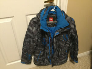 Quicksilver Boys Winter Jacket - Size 12