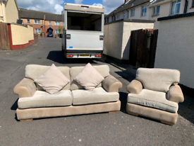3&1 seater sofa in really really really good condition £250