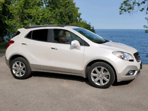 2015 AWD Buick Encore w/ 2-tone Leather, Reverse Cam & GPS