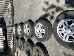 Honda: Excellent tires on rims