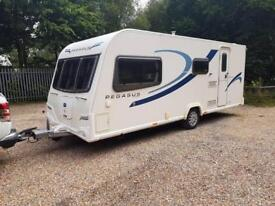 2013 Bailey Pegasus Milan 4 berth caravan MOTOR MOVER FITTED Awning BARGAIN !