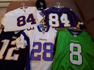 NFL jerseys and hat