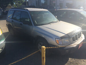 2001 Subaru Forester AWD - SAFETIED and ready to go!!