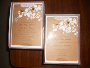 Wedding Guest Book and Wedding invitations kits for sale