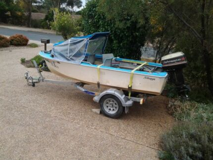 Boat and Dunbier Trailer Pearce Woden Valley Preview