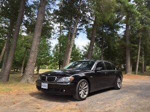Low mileage top of the line 750LI