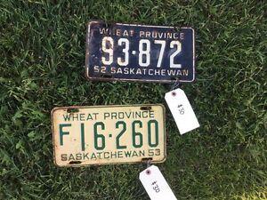 License plates Regina Regina Area image 7