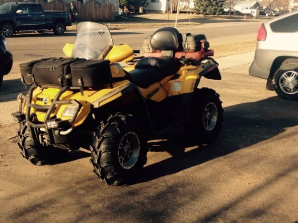 Used 2008 Can-Am outlander max 800 xt 2 up
