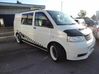Volkswagen Transporter T28 TDi Swb Vanside Windows MANUAL 2009/09