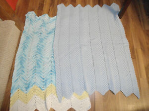 knitted/croched blankets