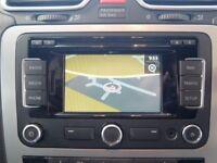 Genuine VW RNS 310 Sat Nav SD Stereo CD Player RNS510 315 Golf Caddy T5 GTI! R32 Skoda Passat VRS FR