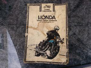 Handbook Aller model 750 Honda 69 à 73