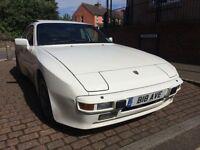 Porsche 944 2.5 (white) 1986