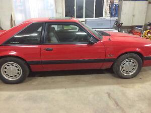 Low KM 1990 Mustang 5.0