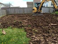 Excavating, Drainage and Landscaping