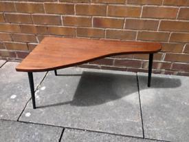 Mid century coffee side plant corner table teak retro vintage dansette