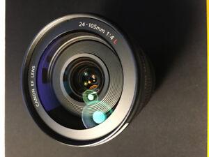 Canon 24-105mm 1:4 Serie L IS USM usagé