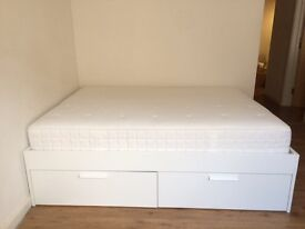 Spacious Double Bed with 4 large Storage drawers