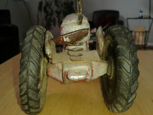 Reduced - Antique Metal Tractor