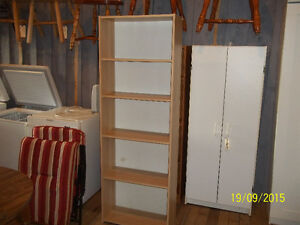 Bookcase with Five (5) Adjustable Shelves