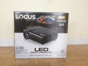 Locus L100 Smart Projector with Screen