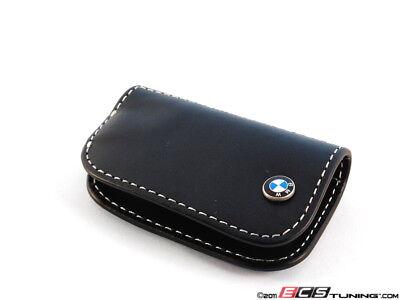 Genuine BMW - Nappa Leather Key Case - Black - 80232209855