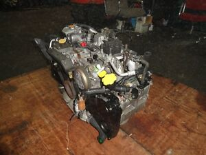 JDM SUBARU WRX EJ20 2.0L TURBO DOHC ENGINE, YEAR 2002-2005 Prince George British Columbia image 4