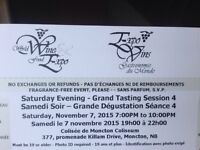 4 tickets to Wine Fest Saturday Night (Sold Out)