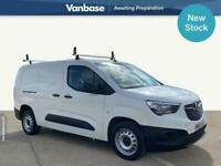 2019 Vauxhall COMBO CARGO 2300 1.5 Turbo D 100ps Edition Long Wheelbase L2H1 Low