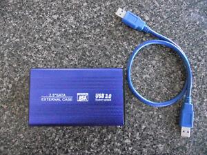 "USB3.0 hard drive enclosure for 2.5"" drives"